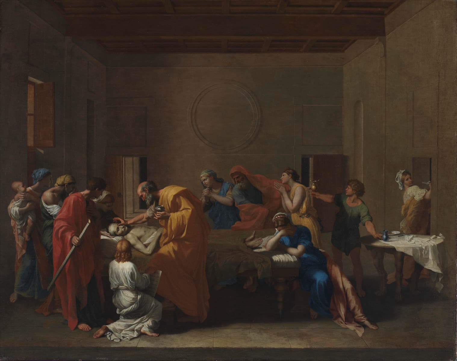Featured image for the project: Nicolas Poussin's Extreme Unction